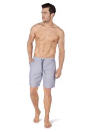 Korte broek crownblue stripe | Sloungewear