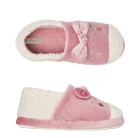 Pantoffels kinderen pink eyes | slippers extra zacht