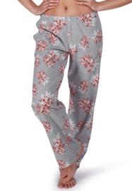 Slaap broek lang grijze bloem | Sleep & dream