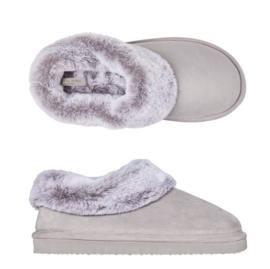 Pantoffels dames groen comfy | Slippers extra zacht