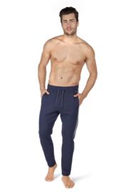 Lange broek blauw gestreept | Sloungewear