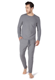 Sweatshirt stone melange | Sloungewear