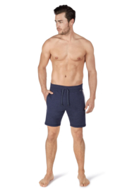 Korte broek blauw gestreept | Sloungewear