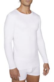 T-shirt YM lange mouwen 100% katoen | wit