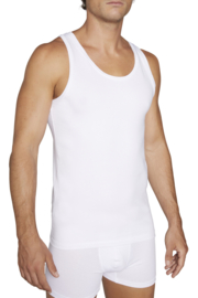 Tank top YM | korte mouwen | wit of zwart