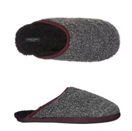 Pantoffels heren grijs | slippers