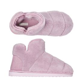 Pantoffels dames pink | Hielslippers extra zacht