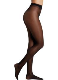 Pantys Ysabel Mora 2 stuks | zwart | 17 DEN panty