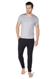 T-shirt stone grey melange Skiny  | Sloungewear