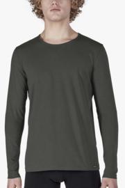 Shirt donker grijs | lange mouwen SK