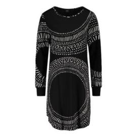 Nanso nacht big shirt Aura zwart