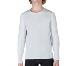 Shirt wit | lange mouwen SK
