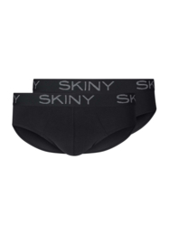 Heren slip 2 pak Skiny | multipack selection | zwart