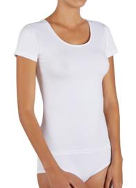 Katoenen T-shirt Ysabel Mora | wit, zwart of huidskleur