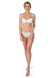 Moderne Cup BH body couture Huber | Ivoor wit