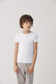 T- shirt kind korte mouwen| Zwart | 100% katoen YM