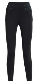 Legging Fantasie push up fashion | mini me | zwart | YM
