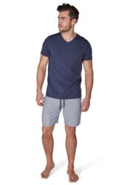 T-shirt blauw Skiny  | Sloungewear