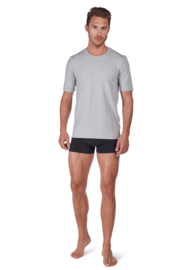 T-shirt stone melange Huber  | 24 hours men lounge