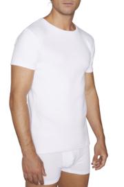 T-shirt YM korte mouwen 100% katoen | wit