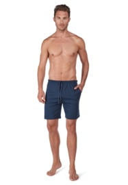 Korte broek blue melange Huber  | 24 hours men lounge