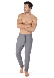 Lange broek stone melange | Sloungewear