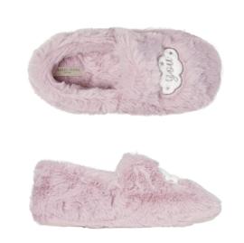 Pantoffels kinderen pink love you | slippers extra zacht