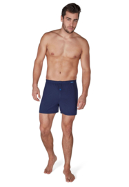 Heren boxer short lang Skiny | Cool Comfort | blue night