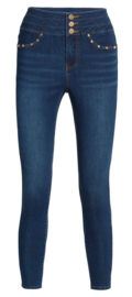 Legging Fantasie fashion | jeans denim | blauw | YM