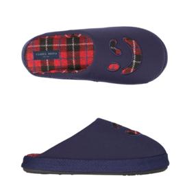 Pantoffels kinderen blauw smile | slippers extra zacht