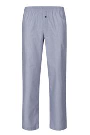 Lange pijama broek blue woven Huber | Woven tender
