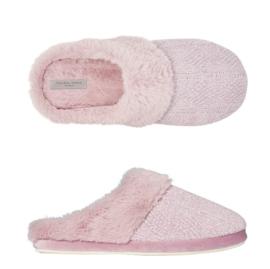 Pantoffels dames roze fluffy | Slippers extra zacht