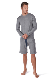 Sweatshirt stone melange Huber  | 24 hours men lounge