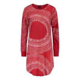 Nanso nacht big shirt Aura rood