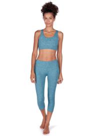 Sport legging 3/4 SK | dragonfly melange | Yoga & relax