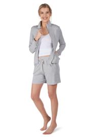 Vest lang light grey Huber | 24 hours women lounge