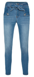 Legging Fantasie fashion | jeans strik| blauw | YM