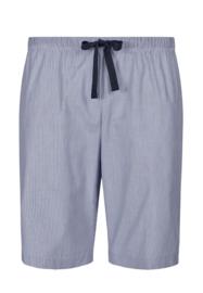 Korte pijama broek blue woven Huber | Woven tender