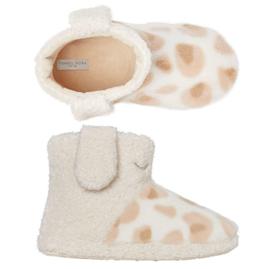 Pantoffels kinderen giraffe | boot slippers extra zacht