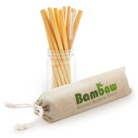 Herbruikbare bamboerietjes (22cm)
