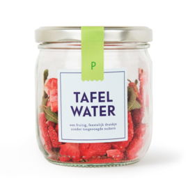 Tafelwater aardbei, veeveine refill