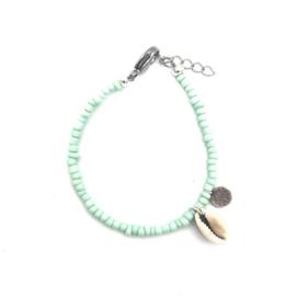 Shells coins bracelet mint