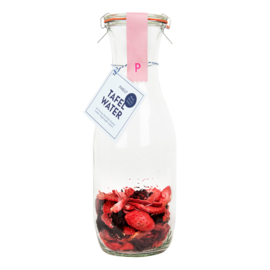 Tafelwater aardbei, hibiscus