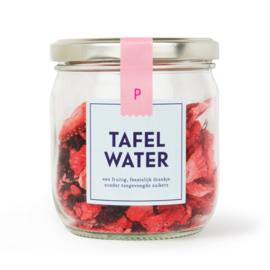 Tafelwater aardbei, hibiscus refill