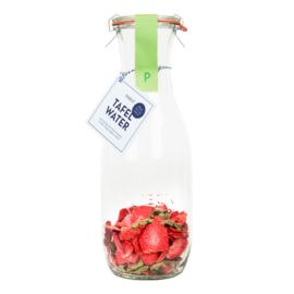 Tafelwater aardbei, verveine