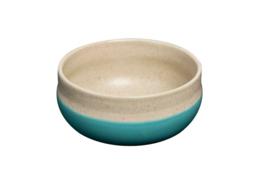 Two colour bowl - turqoise