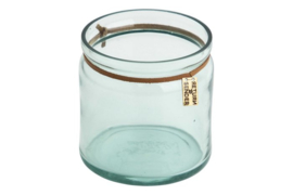 Recycled glass tealight - medium