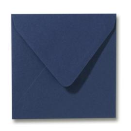 Enveloppen donkerblauw 140 x 140 mm
