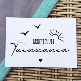 Ansichtkaart Tuinzania