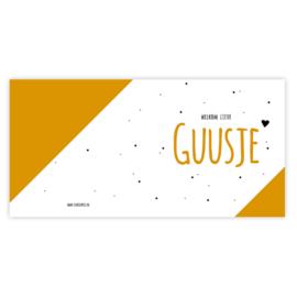 Geboortekaart Guusje (met envelop)